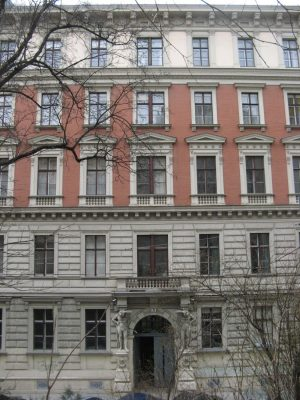 Gründerzeithaus Mölker Bastei 2, Innere Stadt, Wien, Architekt Emil Förster
