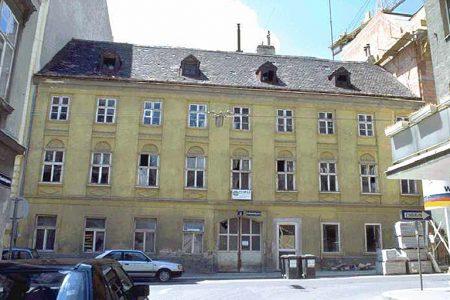 Marchettigasse 5: Erbaut 1802, Abriss ca. 1997 (Foto: MA 19/Stadt Wien)