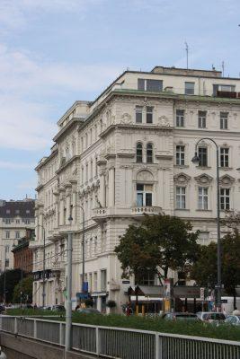 Maximilianhof, Alsergrund (9. Bezirk), Wien, Architekt Emil von Förster