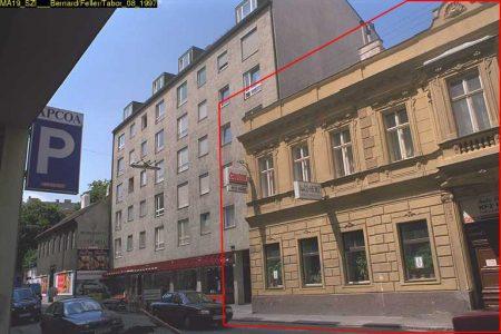 Mollardgasse 18: Erbaut 1834, Abriss ca. 2009 (Foto: MA 19/Stadt Wien)