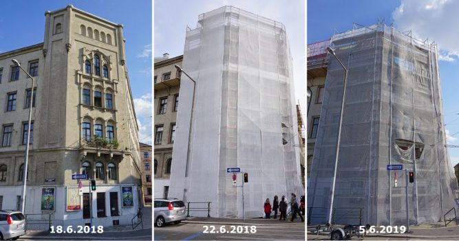 Teilabriss 2018: Radetzkystraße 24-26 (3. Bezirk)