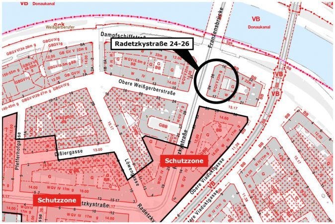 Radetzkystraße-Schutzzone