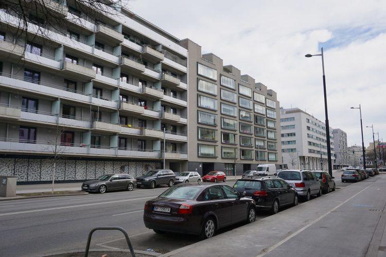 Wohnhäuser in der Sonnwendgasse, Wien, Favoriten
