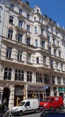 Teinfaltstrasse 4, Wien, Innere Stadt (1. Bezirk), Architekt Emil von Förster