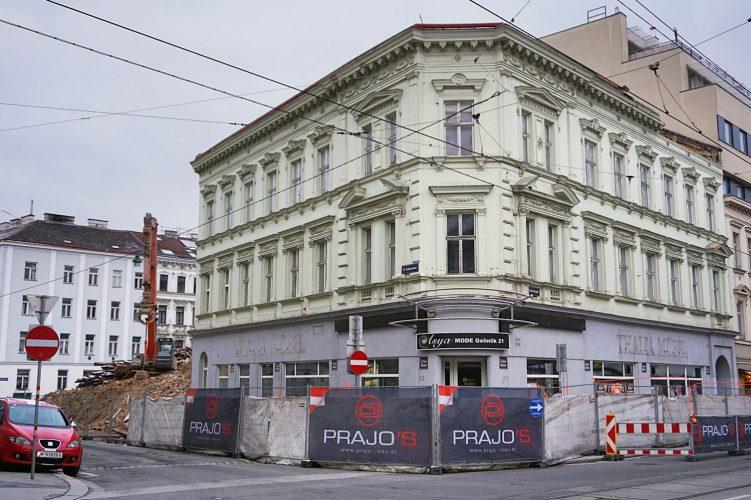 Abriss in der Lindauergasse, Wien-Ottakring