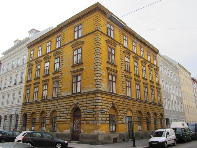 Gründerzeithaus Webergasse 13, Denisgasse, vor dem Abriss 2017, Wien-Brigittenau
