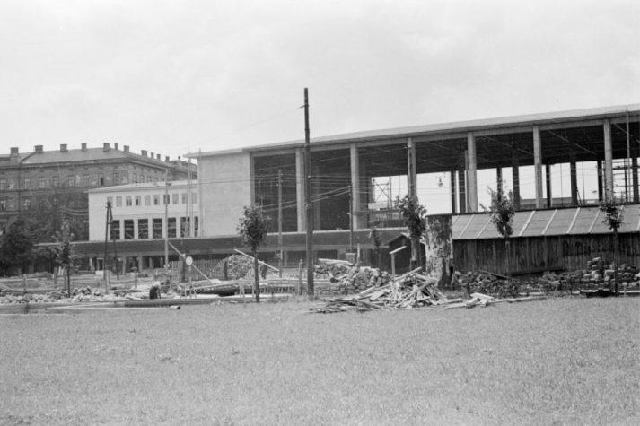 alte Aufahme des Wiener Westbahnhofs