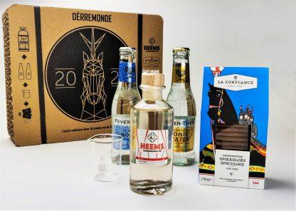 Cadeauverpakking 20cl Heems Gin met tonic