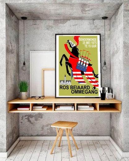 Affiche Stoet 1975 - Remake naar origineel ontwerp