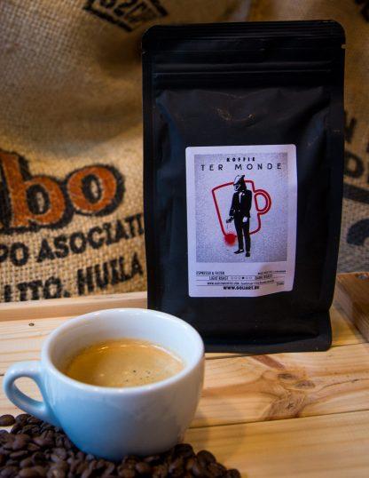 Koffie Ter Monde - Bonen 250 Gr