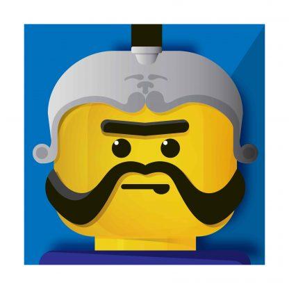Lego - Goliath - canvas 30x30