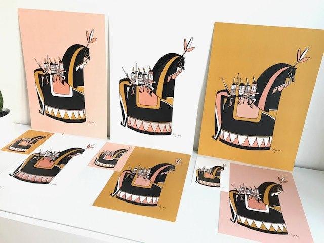Liefste Lief Paard (A4 en A3)