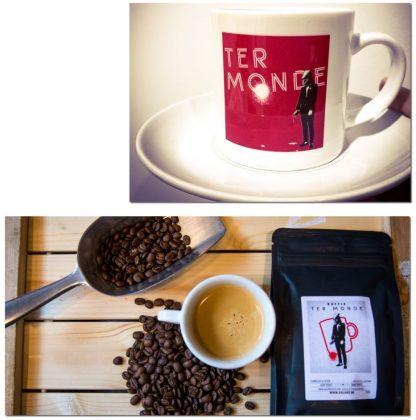 KoffieCombo - Koffiebonen + Bijhorend Tasje Ter Monde