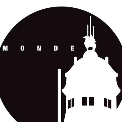 modernistisch Justitiepaleis – Nacht - 30×30