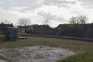 Foto bouwplaats MFA Lemmer 29 maart 2016