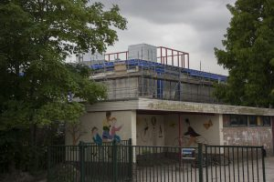 Foto bouwplaats MFA Lemmer 30 juni 2016