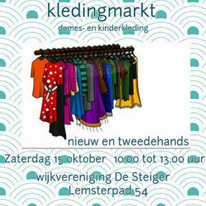 Advertentie kledingmarkt