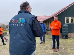 Code Oranje bezoekt Delft