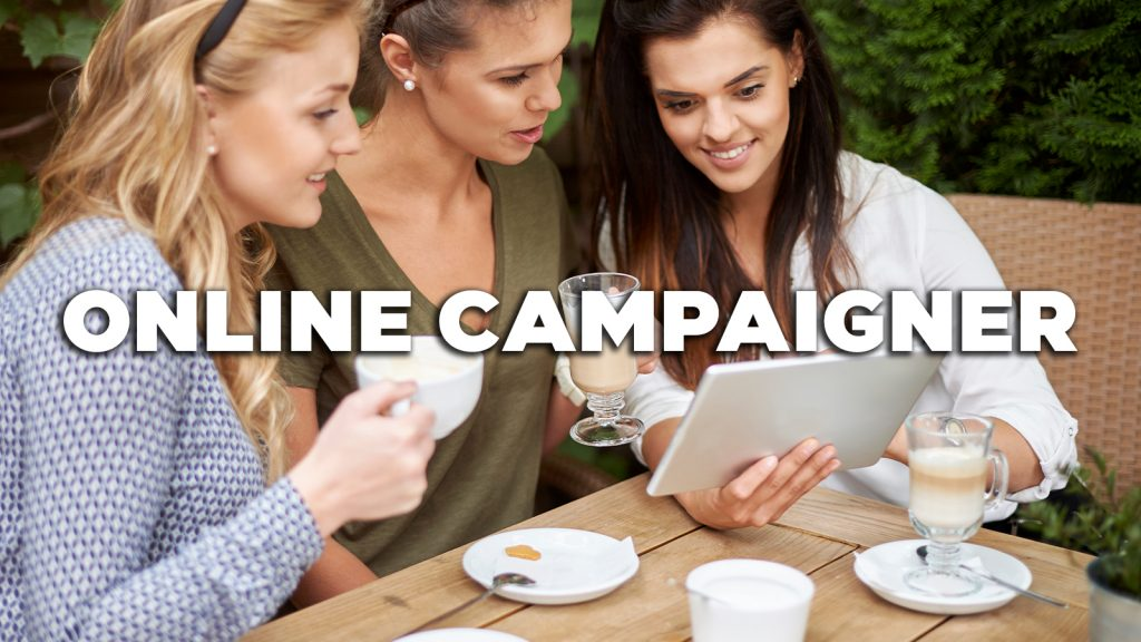 Vacature: Online campaigner