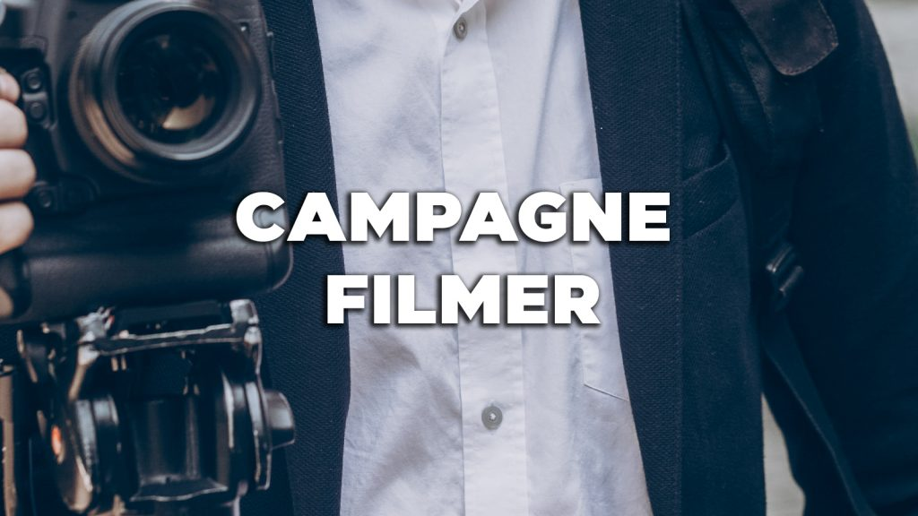 Vacature: Campagne filmer