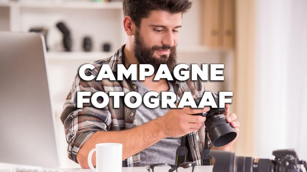 Vacature: Campagne fotograaf