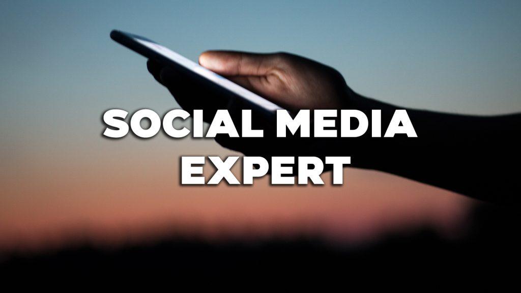 Vacature: Social media expert