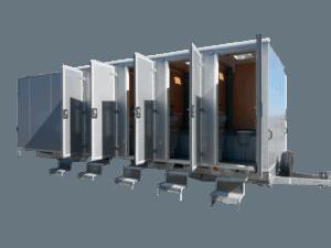 Toalettbrakker - Letthus