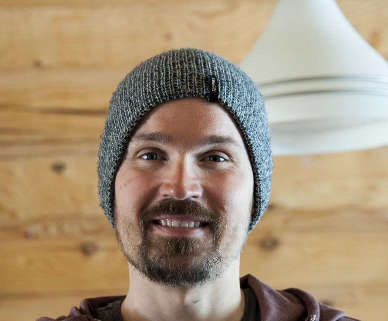 Valtteri Immonen – founder of Wildmaker Lapland - smiling