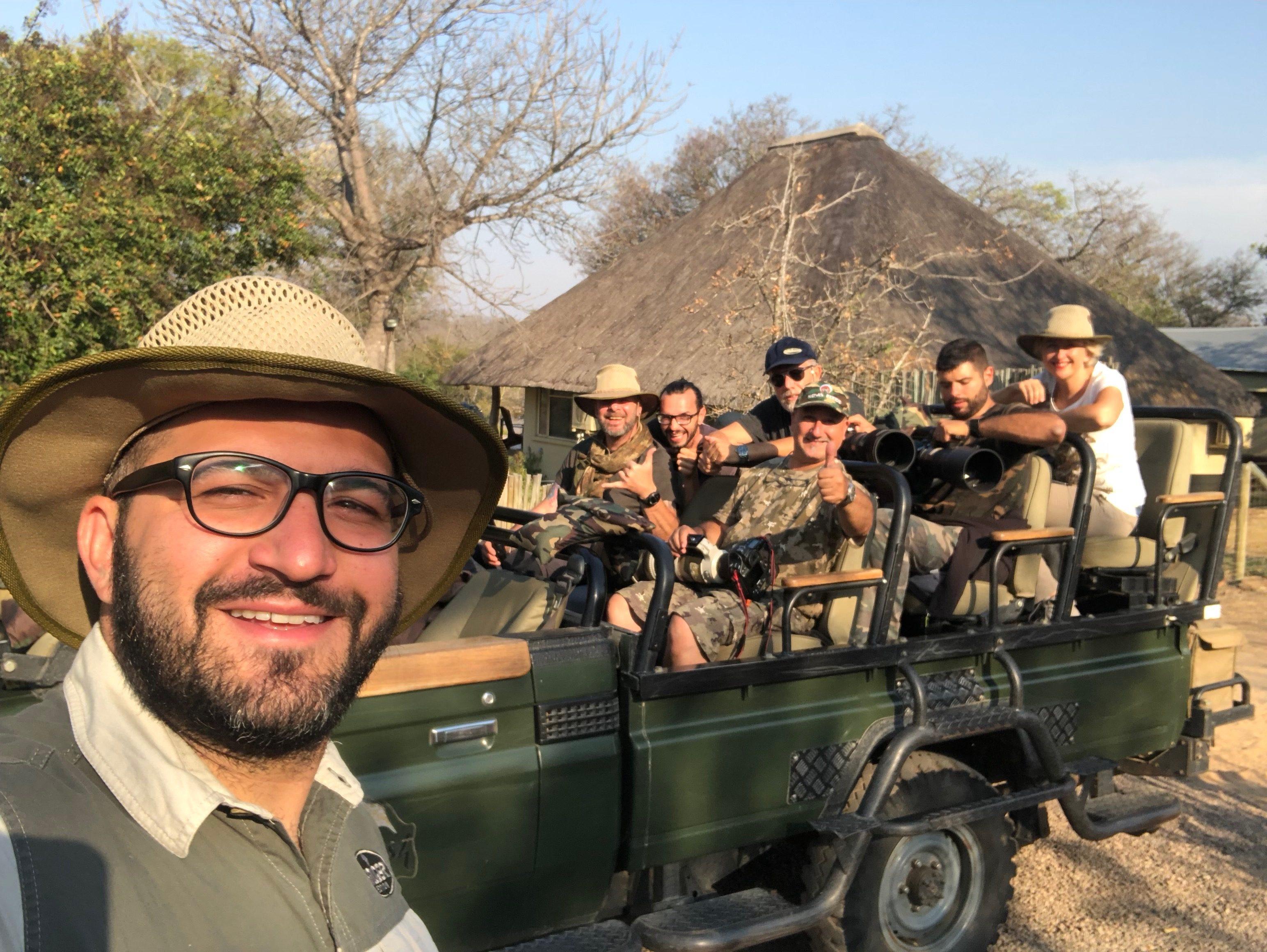 Kruger National Park - Rhino Photo Tour