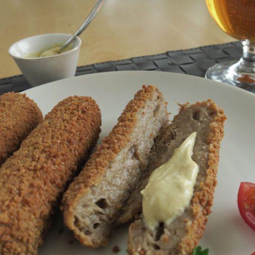 croquettes with mustard photo: ©️Nel Brouwer-van den Bergh
