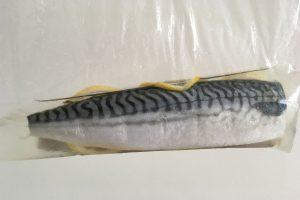 brined mackerel halvein vinegar in zip log bag photo: ©️Nel Brouwer-van den Bergh