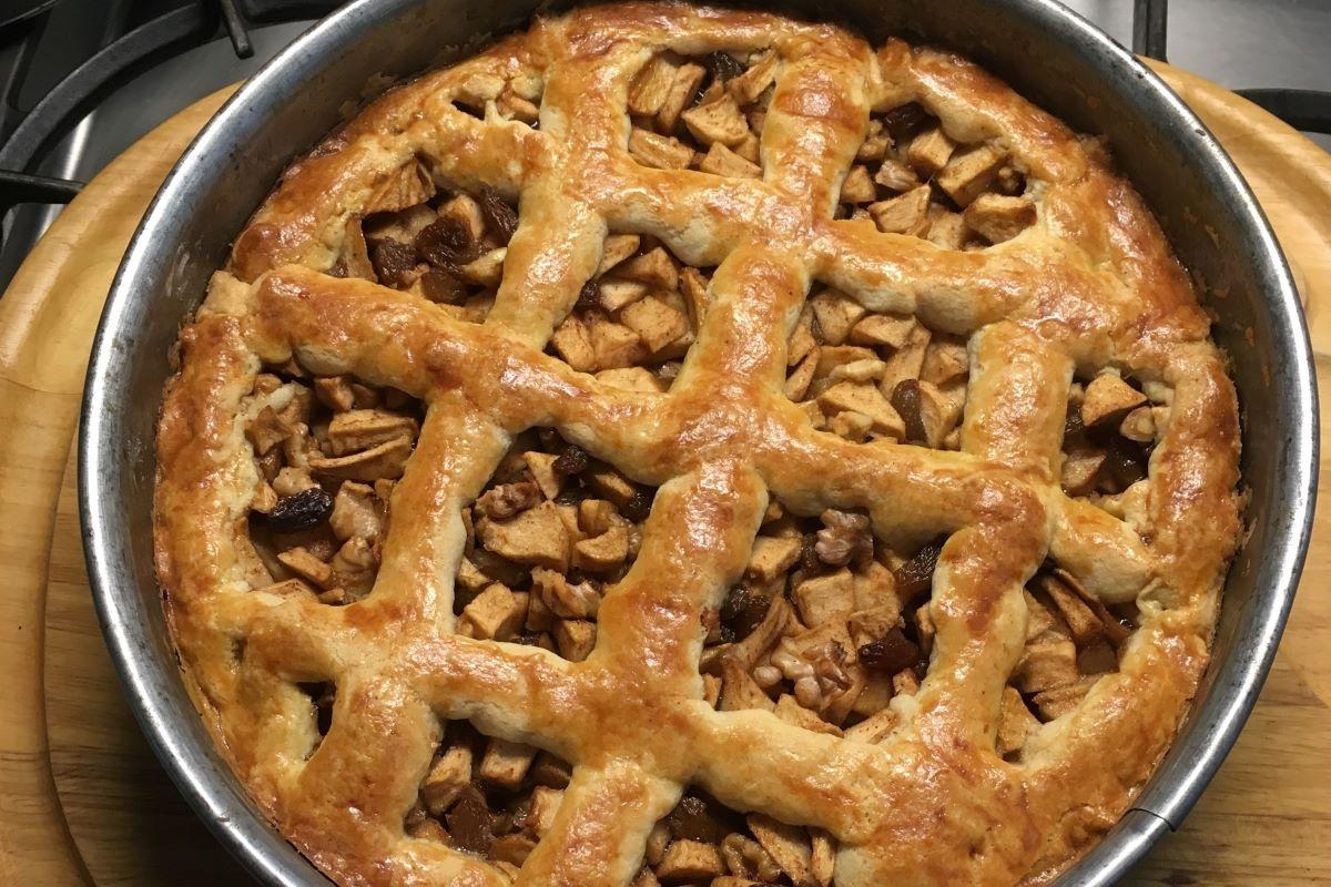 Apple pie - Dutch style ©️ Nel Brouwer-van den Bergh