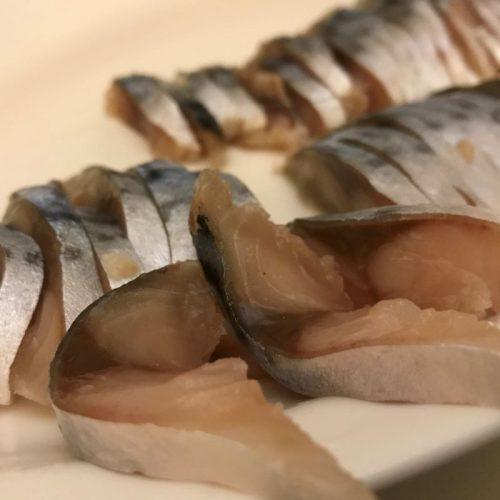 salt cured mackerel ©️ Nel Brouwer-van den Bergh