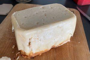 Salmon pate en croute released from terrine©️ Nel Brouwer-van den Bergh