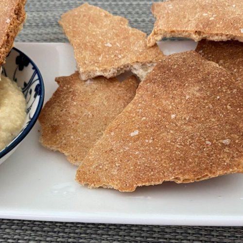 Lavash style crispy crackers ©️ Nel Brouwer-van den Bergh