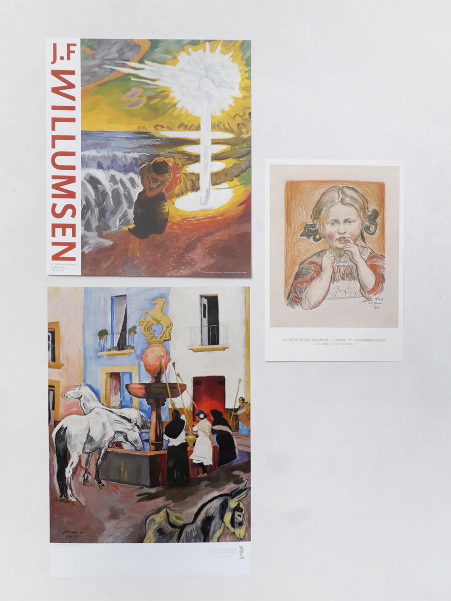 Hestebrønden i Cordoba_Naturskræk Interiør Willumsens Museum Plakater