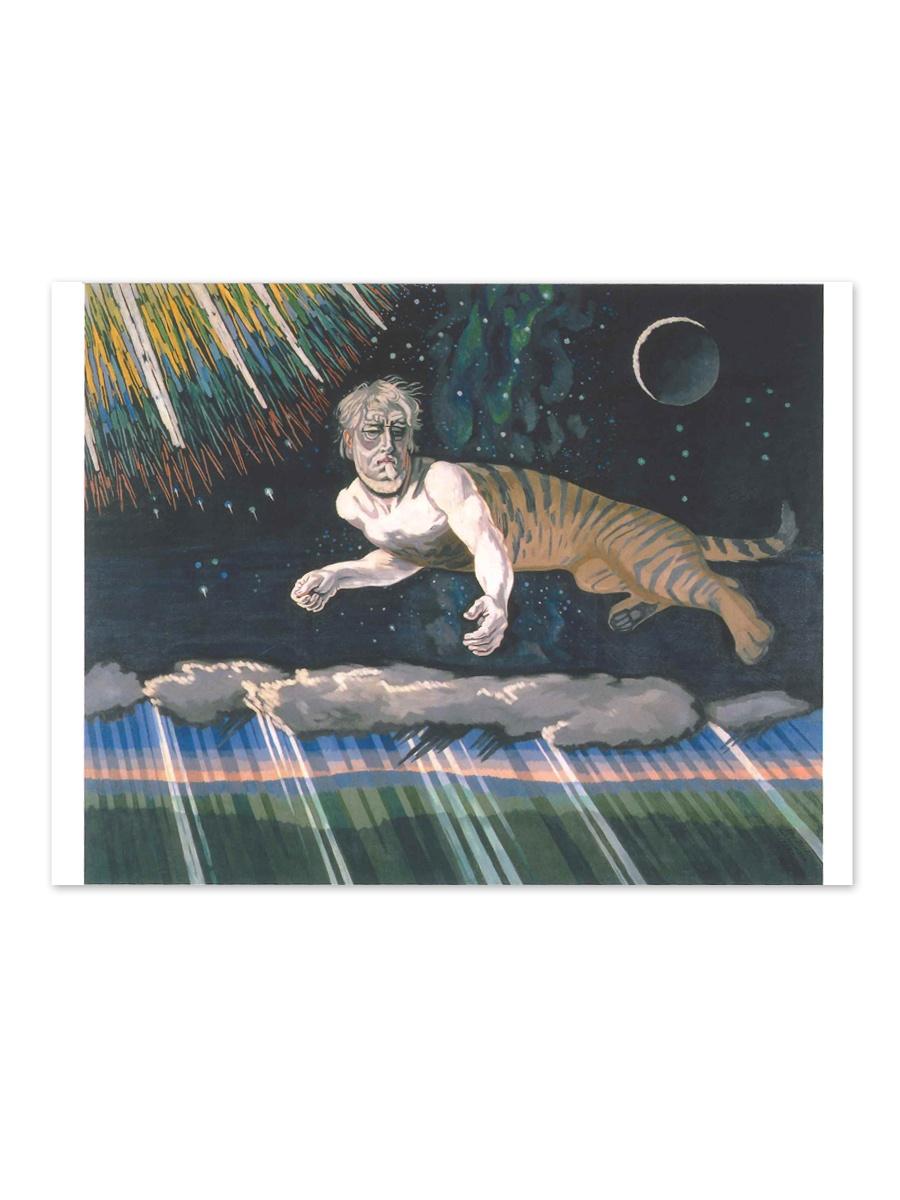 Himmelgåden Postkort Willumsens Museum