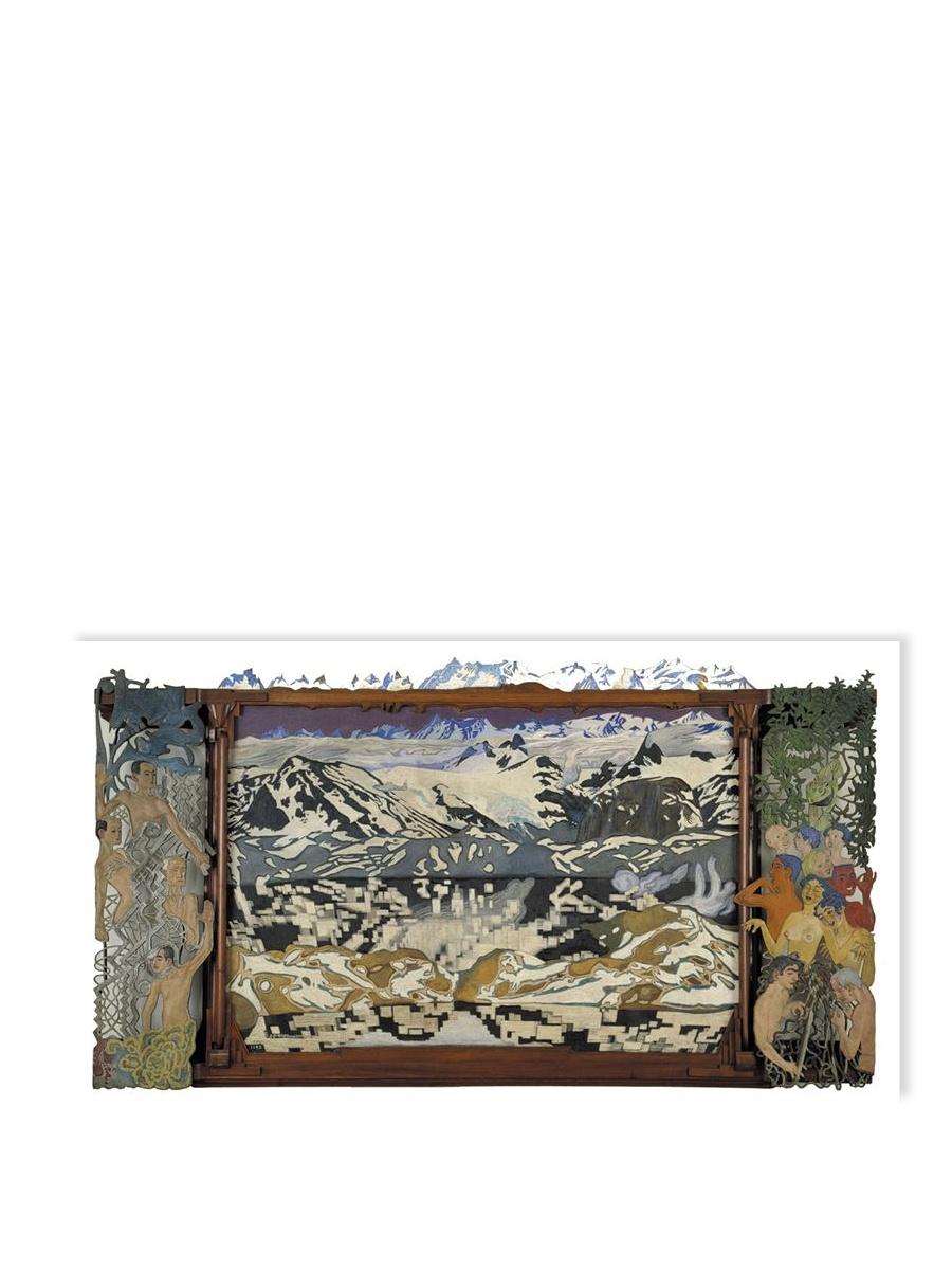 Jotunheim Postkort Willumsens Museum