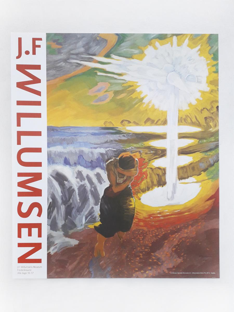 Naturskræk Plakater Willumsens Museum
