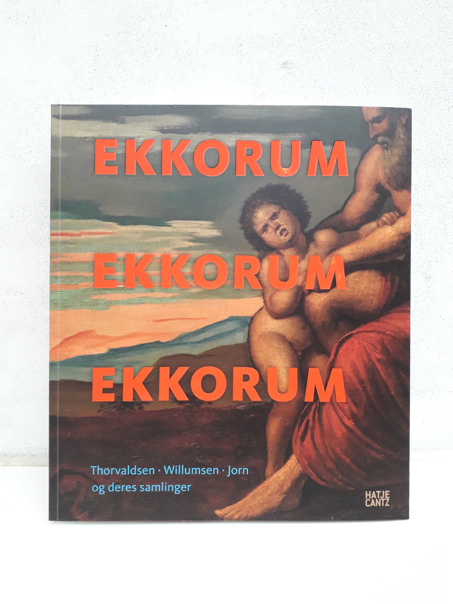 Ekkorum Echo Room Books about Willumsen bøger forside