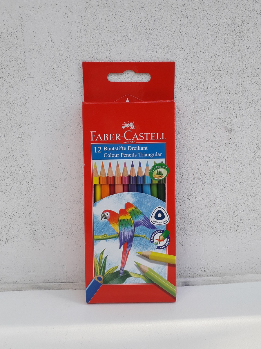 Farveblyanter Faber-Castell Willumsens Museum