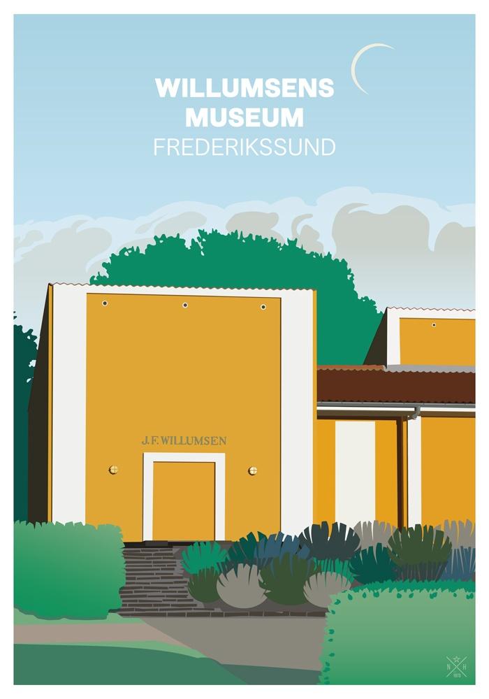Willumsens Museum Ravnene Herholdt Posters Plakater