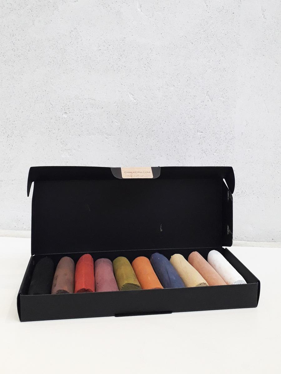 bæredygtige farvekridt refill Copenhagen Chalk Willumsens Museum Gaveide