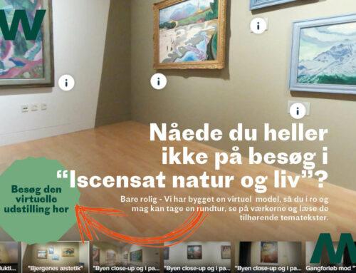 Nu kan du besøge Iscenesat natur og liv online