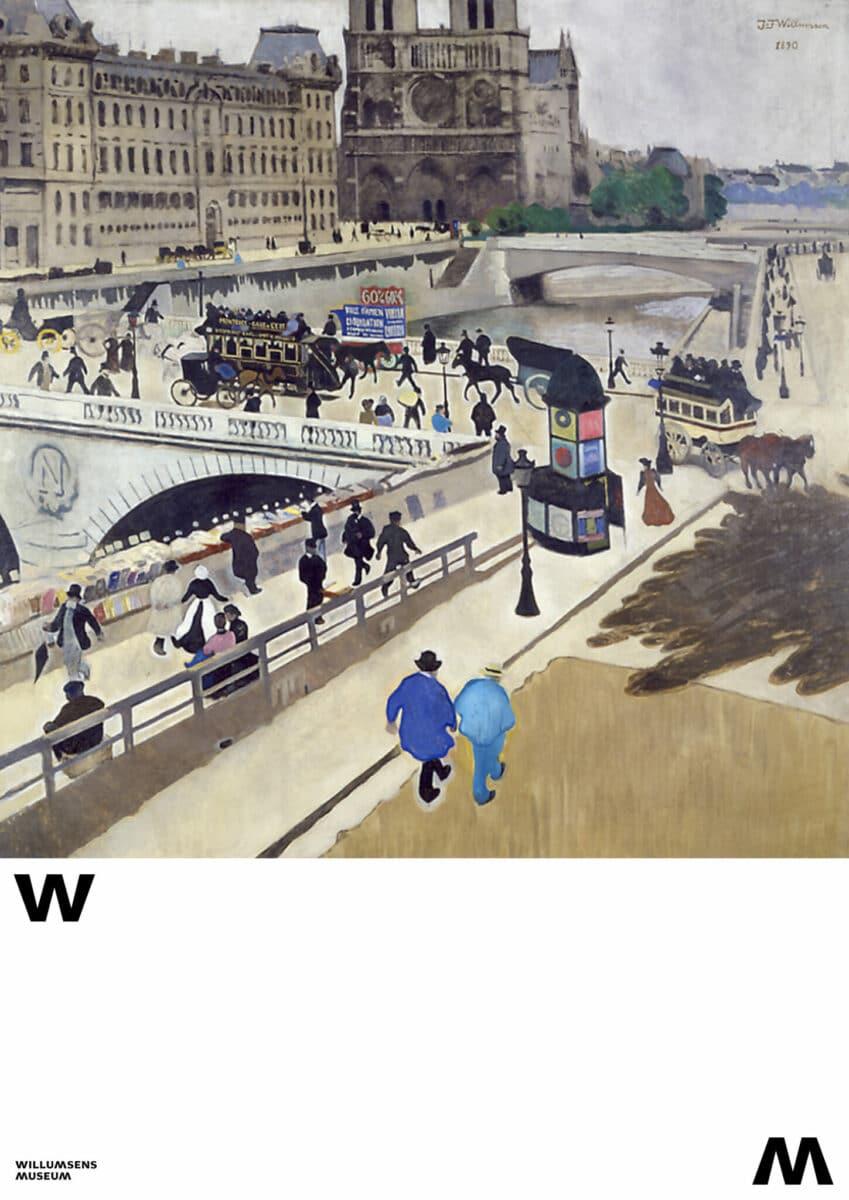 Plakat med valgfrit motiv Willumsens Museum2