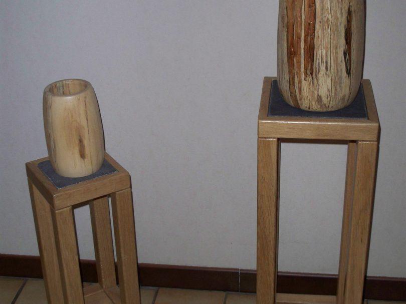 houtdraaiwerk vazen