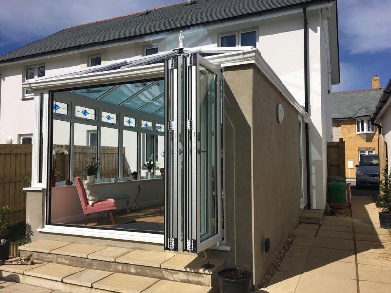 New conservatory in Holsworthy, North Devon