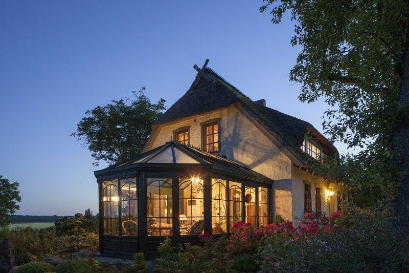 stylish conservatory