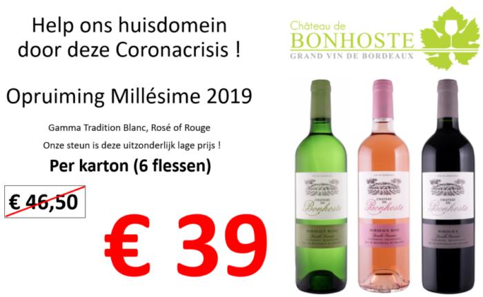 Help ons huisdomein Château de Bonhoste door deze Coronacrisis !