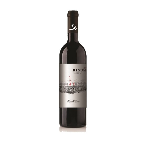 Spansk Crianza rødvin med 1 års fadlagring